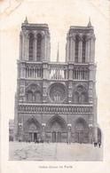 CPA 75 @ PARIS NOTRE DAME Vers 1906 - CATHEDRALE Et La Flèche - Notre Dame De Paris