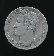 BELGIE LEOPOLD I   1 FRANC 1835   ZELDZAAM    PRACHTSTAAT     2 SCANS - 1831-1865: Léopold I