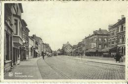 Mortsel - Antwerpsche Straat .    (2 Scans) - Mortsel