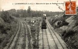 CPA La Membrolle Bifurcation Des Lignes De Vendôme Et Du Mans - Ferrovie