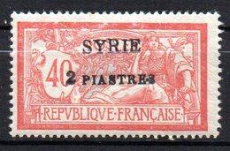 Col 13 /  Syrie   N° 114   Neuf  X MH  Cote 2,00 € - Syria (1919-1945)