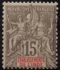 Inde (1900) N 15 * (charniere) - Unused Stamps
