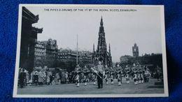 The Pipes E-Drums Of The Royal Scots Edinburgh Scotland - Midlothian/ Edinburgh