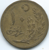 Turkey - AH1341 (1923) - 10 Kurus - KM832 - Türkei