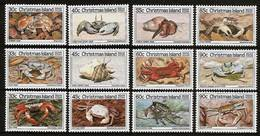 CHRISTMAS ISLAND 1985 - CRABS - 3 Series X 4v Mi 199-202/203-206/207-210 MNH ** Cv€22,50 V863j - Christmaseiland
