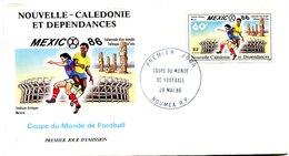 Nouvelle Calédonie - FDC Yvert 518 Coupe Du Monde De Football - X 1058 - FDC