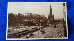 Edinburgh Princes Street Looking West Scotland - Midlothian/ Edinburgh