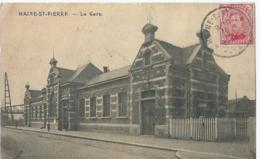 Haine-St. Pierre - La Gare - Phob - 1920 - La Louvière