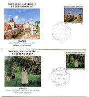 Nouvelle Calédonie - FDC Yvert 529 & 530 Sisley Et Morisot - X 1067 - FDC