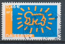 France - Timbre De Naissance - Dessin De Keith Haring YT 3541 Obl - France
