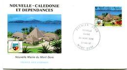 Nouvelle Calédonie - FDC Yvert 537 Mont Dore - X 1071 - FDC