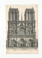 Cp , 75 , Paris , LA CATHEDRALE NOTRE DAME , Vierge , Ed. ND, Façade - Notre Dame De Paris