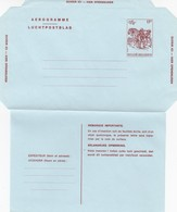BELGIQUE  - ENTIER POSTAL AEROGRAMME 17F   /2 - Stamped Stationery