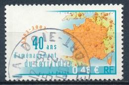 France - 40 Ans D'aménagement Du Territoire YT 3543 Obl - France