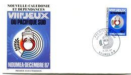 Nouvelle Calédonie - FDC Yvert 540 Jeux Pacifique Sud - X 1073 - FDC