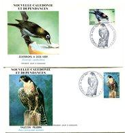 Nouvelle Calédonie - FDC Yvert 542 & 543 Faune Oiseaux - X 1075 - FDC
