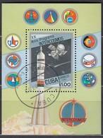 KUBA 1987 - MiNr: 3090 Block 98  Used - Raumfahrt