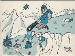 J'AIME LES FLEURS    ILLUSTRATEUR   CLAUDE VERRIER - Other Illustrators