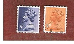 GRAN BRETAGNA (UNITED KINGDOM) -  SG X883.886  -  1976 QUEEN ELIZABETH II    - USED° - Usati