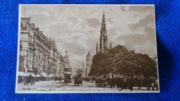 Princes Street From National Gallery Edinburgh Scotland - Midlothian/ Edinburgh