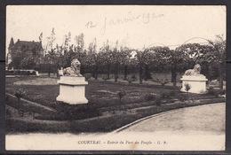 Courtrai  Entrée Du Parc Du Peuple - Kortrijk