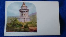 Monument To The Poet, Robert Burns Edinburgh Scotland - Midlothian/ Edinburgh