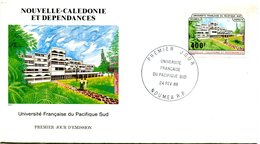Nouvelle Calédonie - FDC Yvert 550 Université Pacifique Sud - X 1080 - FDC