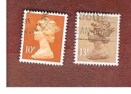 GRAN BRETAGNA (UNITED KINGDOM) -  SG X886b.900  -  1984 QUEEN ELIZABETH II    - USED° - 1952-.... (Elisabetta II)