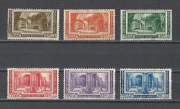 VATICAN.  YT   N° 80/85  Neuf *  1938  (voir Détail) - Neufs