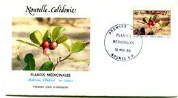 Nouvelle Calédonie - FDC Yvert 556 Plantes Médicinales - X 1084 - FDC
