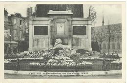Kortrijk  Gedenkteken Van De Oorlog 1914-18  1 - Kortrijk