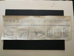 ANNALES DES PONTS Et CHAUSSEES (DEP 13) - Viaduc Sur L'étang De Caronte - Imp A. Gentil - 1915 (CLC73) - Cartes Marines