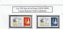 Nouvelle Caledonnie Autoadésifs N° 1086 Et 1807 La Paire RRR - Nueva Caledonia