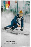 Ski - DUVILLARD Henri - Winter Sports
