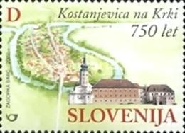 ESLOVENIA 2002 - SLOVENIE - 750 AÑOS DE LA VILLA DE KONSTANJEVICA - YVERT Nº 364** - Slovénie