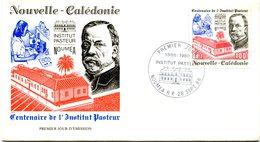 Nouvelle Calédonie - FDC Yvert 563 Pasteur - X 1090 - FDC