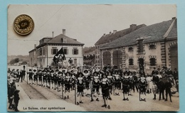 La Suisse, Char Symbolique, Chaux-de-Fonds, 1910 - NE Neuchâtel