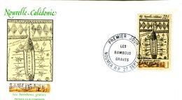 Nouvelle Calédonie - FDC Yvert 581 Bambous Gravés - X 1095 - FDC