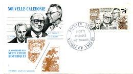 Nouvelle Calédonie - FDC Yvert 583 Société D'études Historiques - X 1097 - FDC