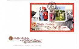 ISLE OF MAN - FDC - 2006 - BLOC : La Reine Elizabeth II - Man (Insel)