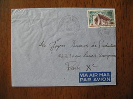 Lettre 1969 De Saint-Gilles-Les-Bains  La Réunion Par Avion Pour Paris  X ème Pour Les Foyers Sociaux De Production - Covers & Documents