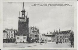 Kortrijk  Groote Markt En Gedenkteken 1914-18  2 - Kortrijk