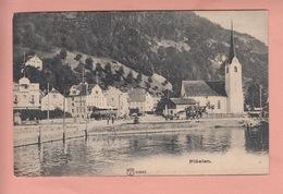 OUDE POSTKAART - ZWITSERLAND - SCHWEIZ -  SUISSE -  FLUELEN - 1900'S - KOETS - KUTSCHE - UR Uri
