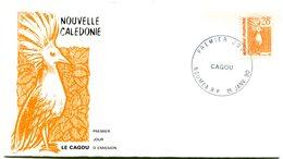 Nouvelle Calédonie - FDC Yvert 587 Cagou - X 1100 - FDC