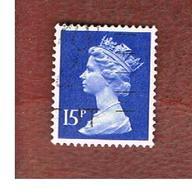 GRAN BRETAGNA (UNITED KINGDOM) -  SG X947  -  1979 QUEEN ELIZABETH II  15  - USED° - Usati