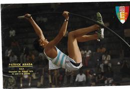 Saut A La Perche : ABADA Patrick - Athlétisme