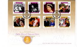 ISLE OF MAN - FDC - 2006 - La Reine Elizabeth II - Man (Insel)
