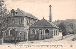 ¤¤  -  PARIS   -  Usine De La Manufacture Métallurgique De La Jonchère - 15 Rue Saussier-Leroy   -  ¤¤ - Distrito: 17