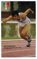 400 Mètres Haies : NALLET Jean-Claude - Athlétisme