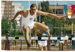 Décathlon : LE ROY Yves - Athlétisme